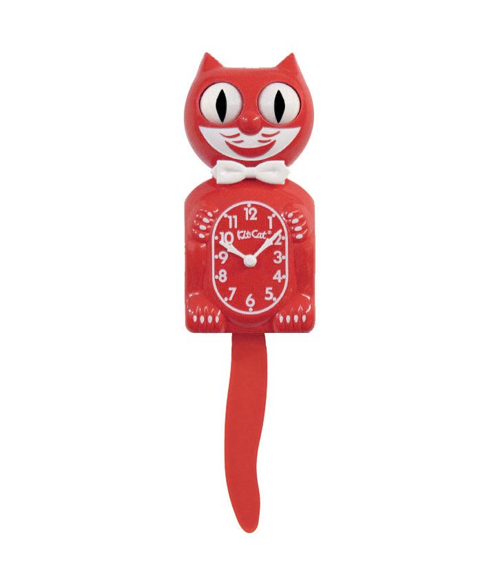 Scarlet Red Kit-Cat klok