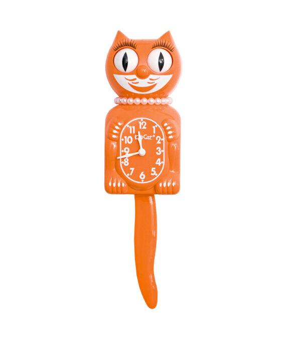 Kit-Cat Klok Lady Pumpkin Delight