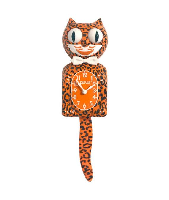 Kit-Cat Leopard luipaard klok