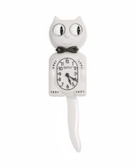 Kit-Cat Klock White Gentleman