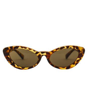 Klassieke retro cat eye zonnebril