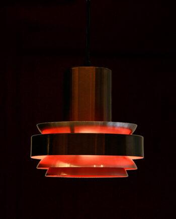 Lakro hanglamp koper teracotta vintage