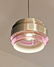 Lakro hanglamp jaren 70 paars
