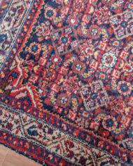 Loper tapijt vintage met fijn patroon 390×90 cm