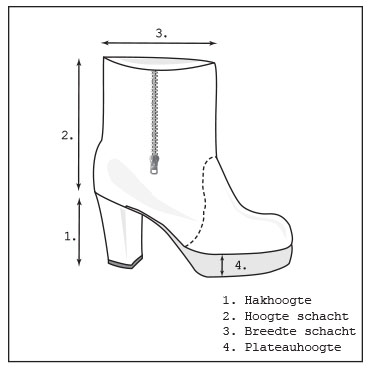 Maatvoering schoen-2