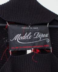 Maison Martin Margiela Modèle Déposé zwart gebreid vest 2004