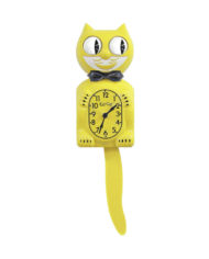 Kit-Cat Klock Majestic Yellow