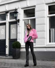 Make-people-stare-roze-fur-froufrous-pradon-tasje (9)