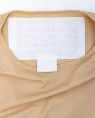Margiela x H&M nude body met zwarte beha