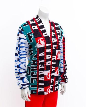 Martin Margiela x H&M trui van voetbalsjaals