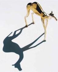 Messing kameel beeld &Klevering