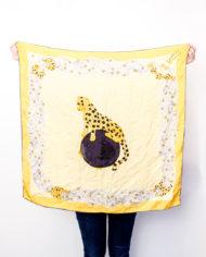 Must de Cartier vintage zijden shawl met luipaard