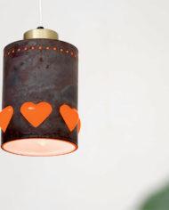 Nanny Still x Raak vintage hartjes lamp