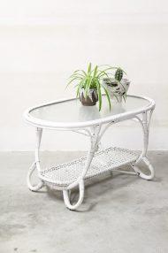 Ovale-vintage-rotan-Rohe-salontafel-glasplaat-1