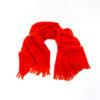 Rode wollen shawl van Yohji Yamamoto