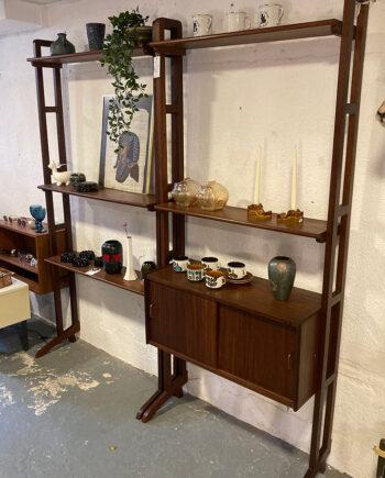 Simpa lux wandkast vintage modulair systeem - set van 2