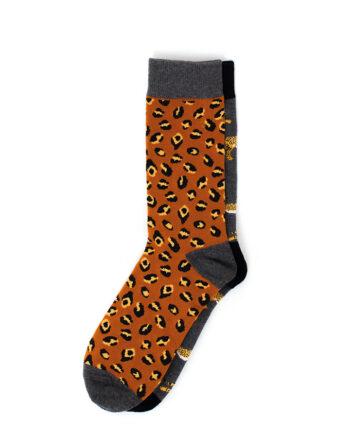 Sokken met luipaardprint