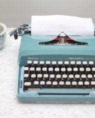 Sperry-Remington-Idool-vintage-typemachine-lichtblauw-groen-2