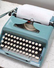 Sperry-Remington-Idool-vintage-typemachine-lichtblauw-groen-4