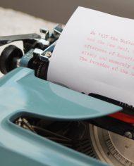 Sperry-Remington-Idool-vintage-typemachine-lichtblauw-groen-5