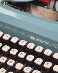 Sperry-Remington-Idool-vintage-typemachine-lichtblauw-groen-6
