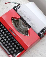 Sperry-Remington-Idool-vintage-typemachine-rood-3