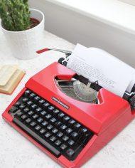 Sperry-Remington-Idool-vintage-typemachine-rood-6
