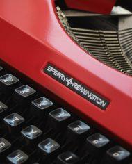 Sperry-Remington-Idool-vintage-typemachine-rood-7