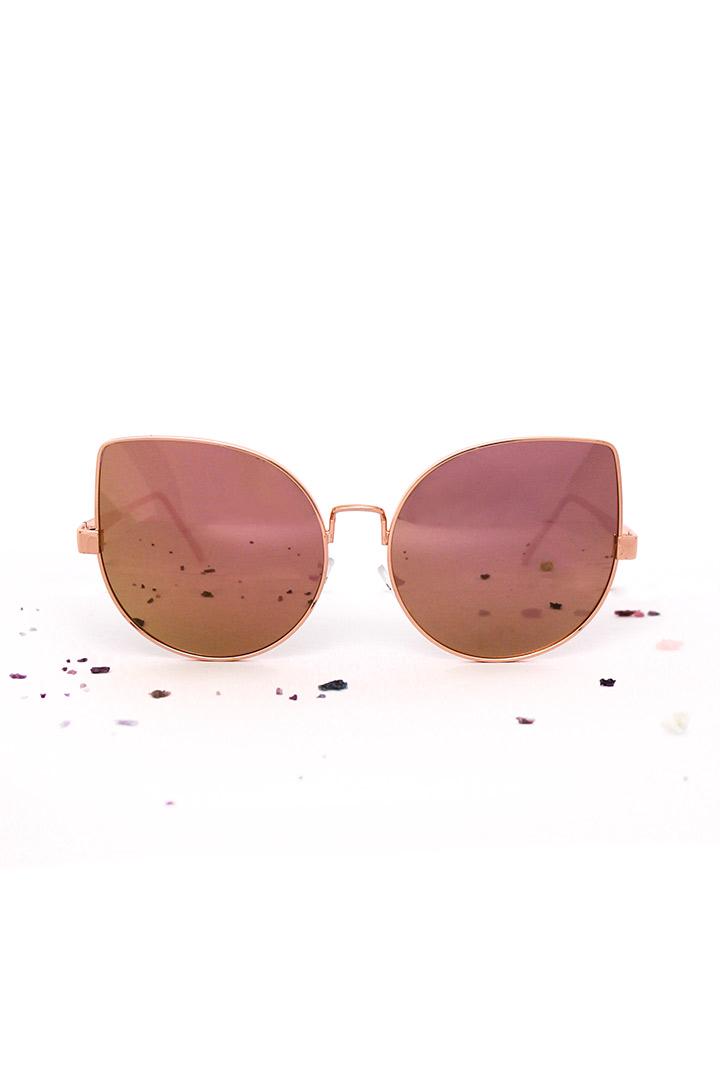 Super oversized zonnebril
