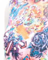 Tattoo tanktop met rozen Comme des Garçons 2003