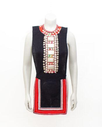 Traditioneel Hmong schort Aziatische klederdracht