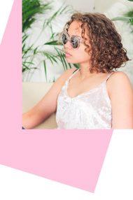 Translucy doorzichtige zonnebril