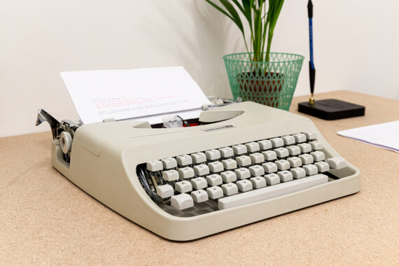 Underwood 18 typemachine vintage