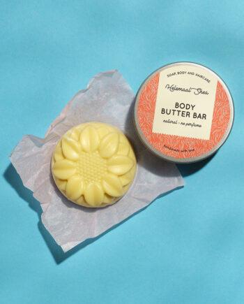 Vegan body butter bar zonder parfum