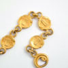 Vergulde armband met zonnetjes vintage