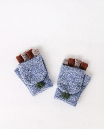 Vingerloze handschoen met wanten