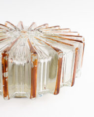 Vintage Glashutte Limburg plafonnière of wandlamp Helena Tynell zon