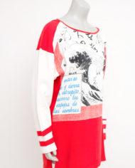 Vintage Kansai Yamamoto t-shirt met golven