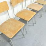 Vintage NVA schoolstoelen