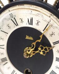 Vintage Plato sunburst klok Mid-Century Modern jaren 50