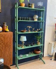 Vintage Simpla lux wandkast mintgroen