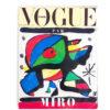 Vintage Vogue tijdschrift speciale editie Miro uit 1979