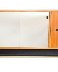 Vintage badkamer spiegelkastje Svedbergs för Moderna Badrum voorkant