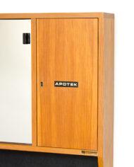 Vintage badkamer spiegelkastje Svedbergs för Moderna Badrum