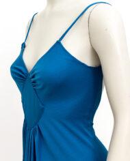 Vintage-blauwe-avondjurk-met-laag-uitgesneden-rug-5