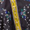 Vintage blouse zwart met print Mac & Maggie