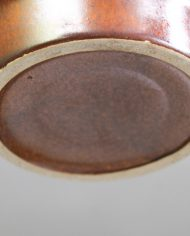 Vintage-bruine-bloempot-Fohr-Keramik-2