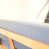 Vintage design blauw grijze bank II