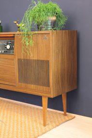 Vintage-dressoir-radiomeubel-Grundig-Kleeblatt-konzertschrank-Bergamo-ST-6