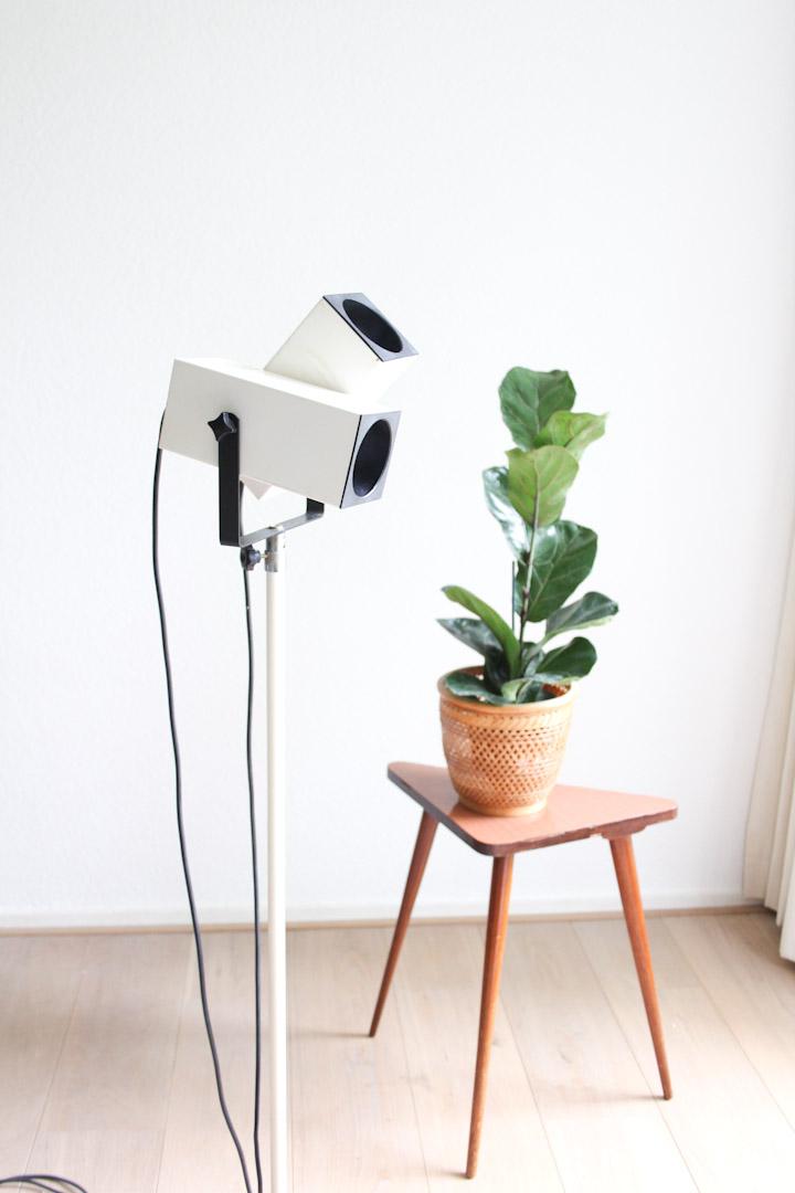 dubbele vloerlamp